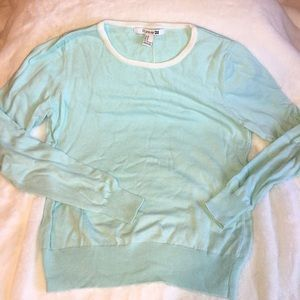 Mint green crewneck sweater